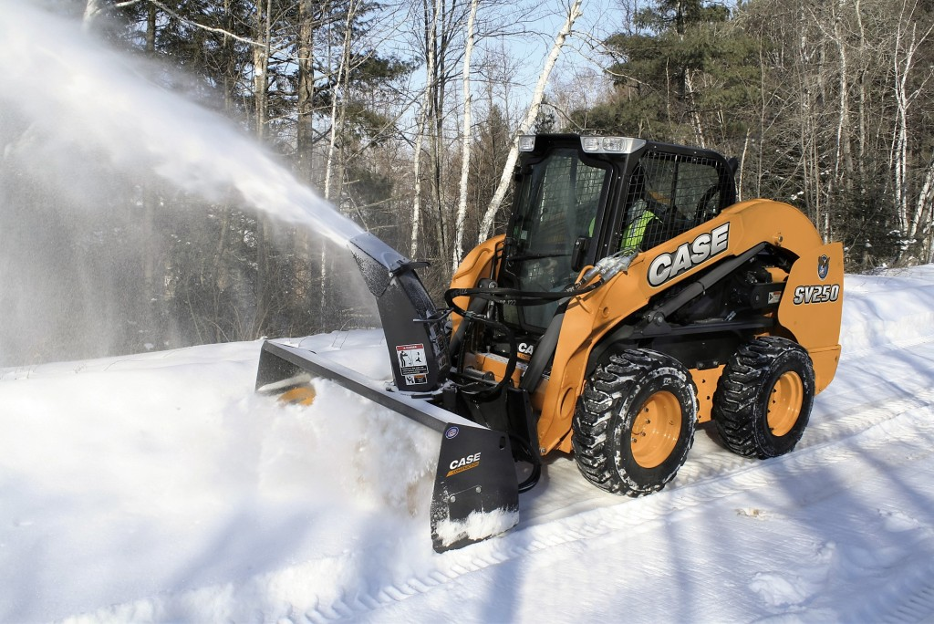 Industrial Snow Thrower : Commercial snow plow