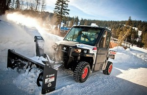 commercial snow blower
